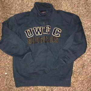 UWEC bulldog sweatshirt size small